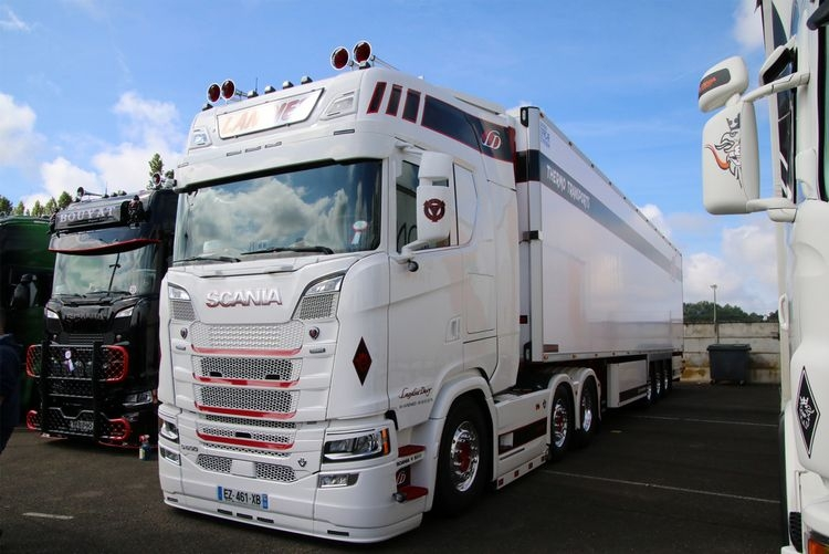 Scania S Highline CS20H  Reefer Trailer  Landier