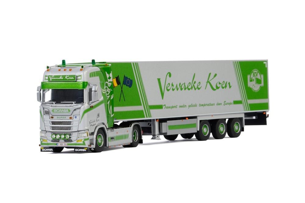 Scania S Highline CS20H Reefer Vervaeke Koen Transport