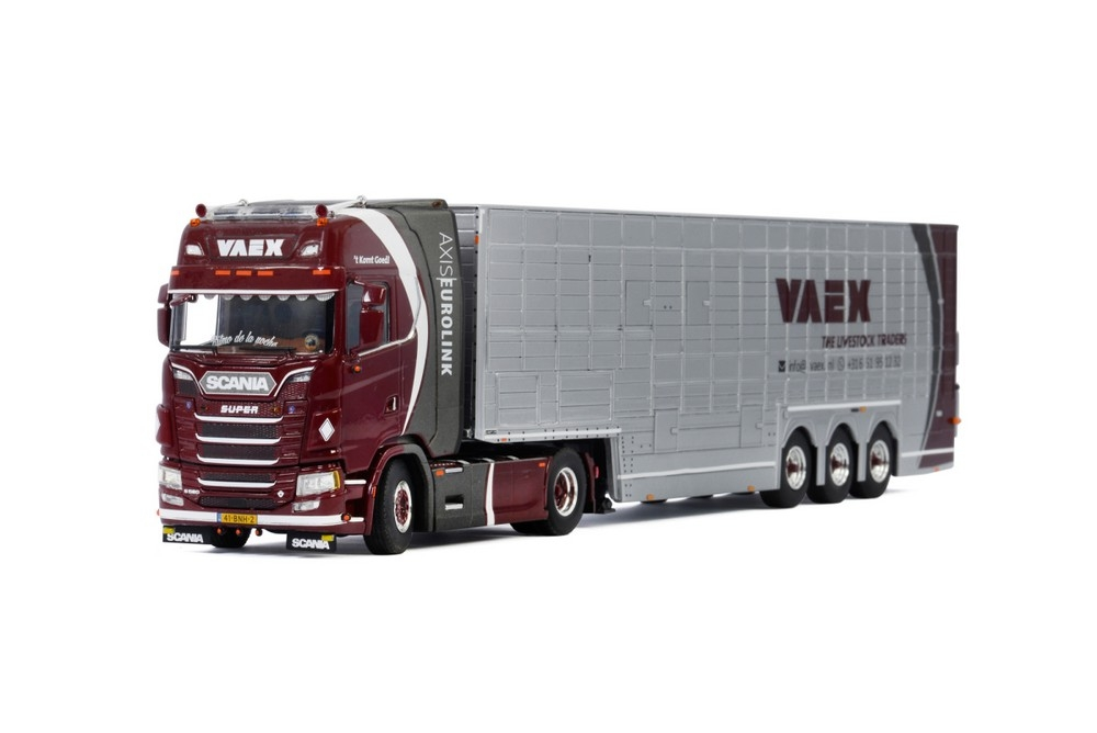 Scania S Highline CS20H Resin Trailer  Vaex