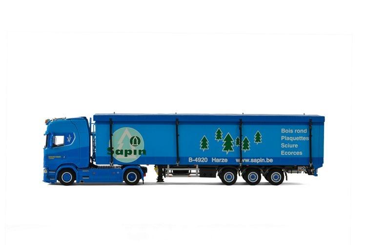 Scania S Highline CS20H Schubbodenauflieger Berend Visser