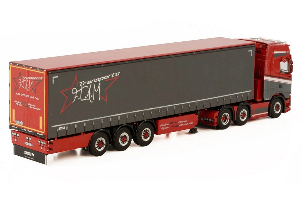 Scania S Highline Curtainside   Transports F.L.A.M.