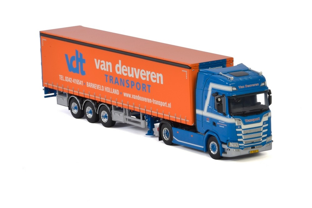 Scania S Highline Curtainside   Van Deuveren Transport