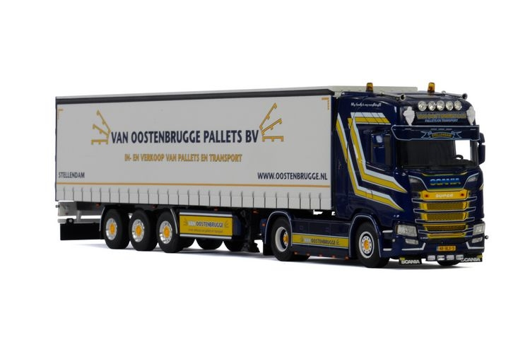 Scania S Highline Curtainside  Van Oostenbrugge Pallets
