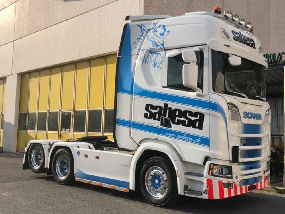 Scania S Highline Lowloader   Sabesa SA