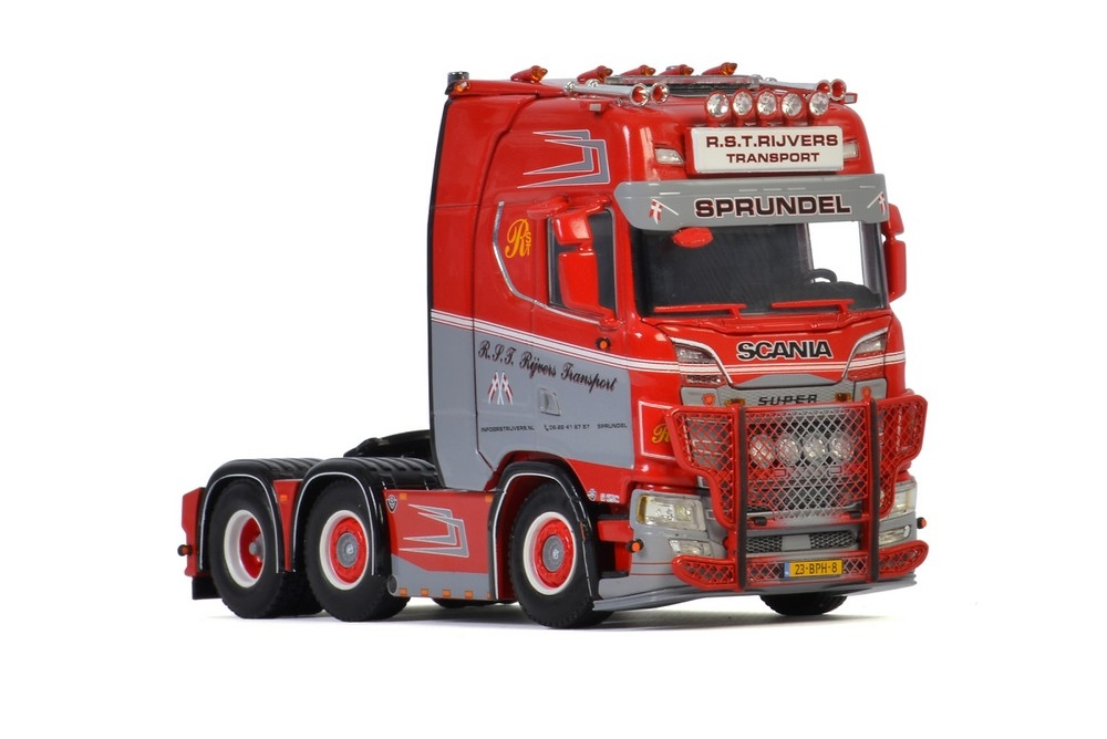 Scania S Highline  R.S.T. Rijvers Transport
