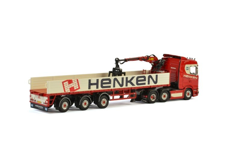 Scania S Normal CS20N Classic Steinauflieger Henken