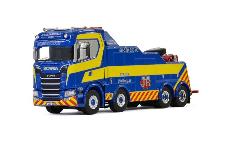 Scania S Normal CS20N Falkom  JB Billbaergning