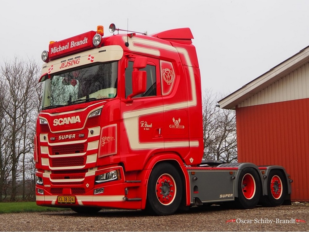 Scania S Normal CS20N  FL. Brandt & Son