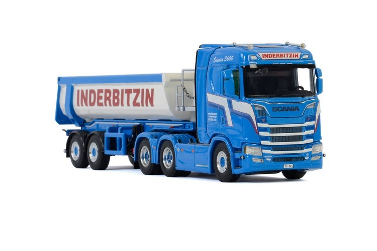 Scania S Normal CS20N Half Pipe Tipper Inderbitzin
