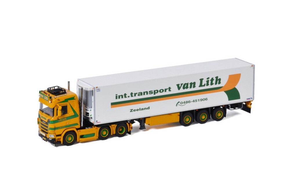 Scania S Normal CS20N  Reefer  Int. Transport van Lith
