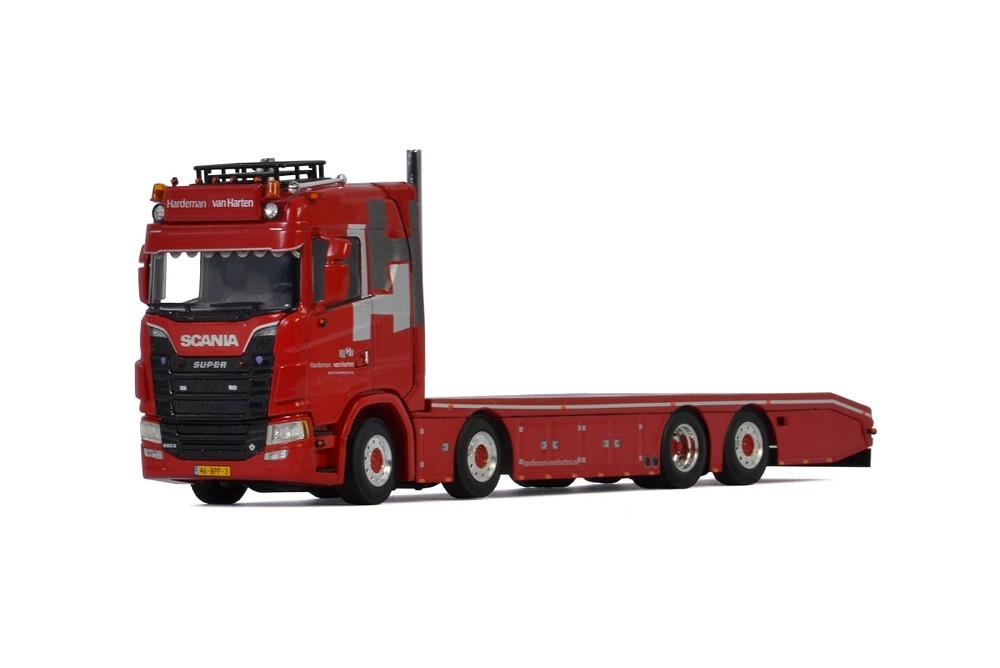Scania S Normal CS20N Riged Flat Bed  Hardeman van Harten