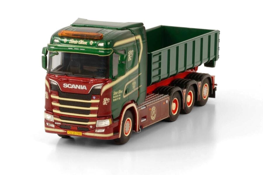 Scania S Normal CS20N Rigid Hooklift Container 15M3 Brdr. Olsen