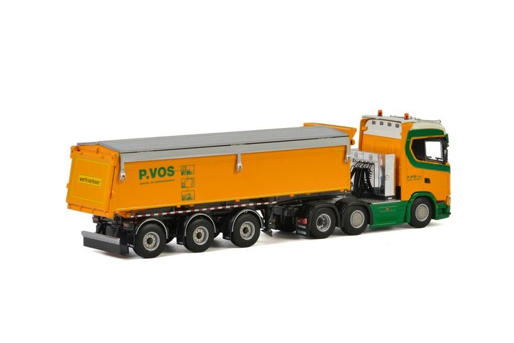 Scania S Normal CS20N Tipper Trailer P.Vos