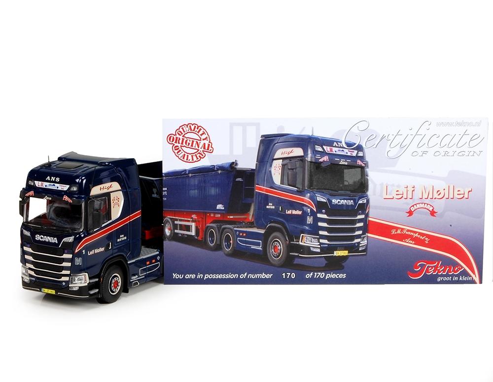 Scania S serie 6x4 Kipper Moller Leif