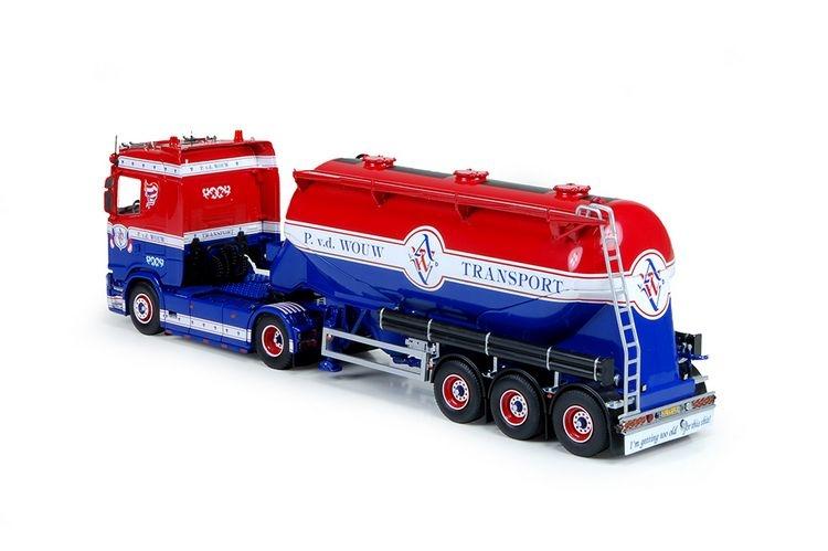 Scania S serie  Feldbinder Tankauflieger Wouw Van Der