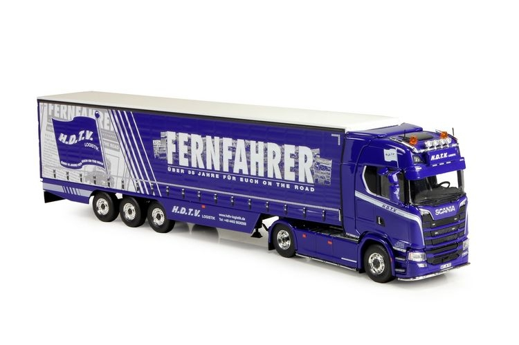 Scania S-Serie Highline Curtainside Fernfahrer HDTV Logistik