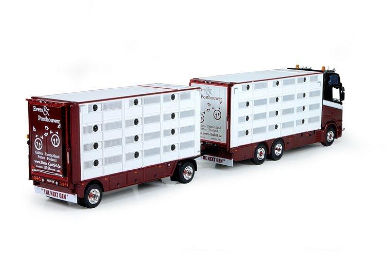 Scania S serie Highline Herde Auflieger Evers en Posthouwer