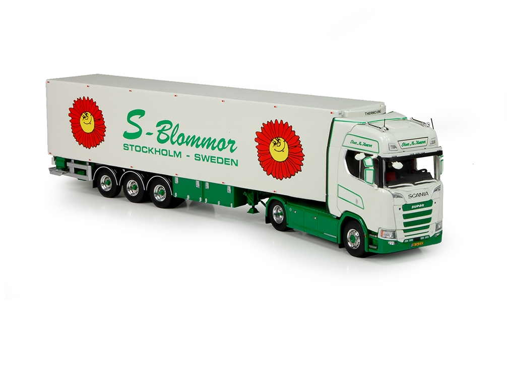 Scania S serie Highline  Kofferauflieger Hansen Steen