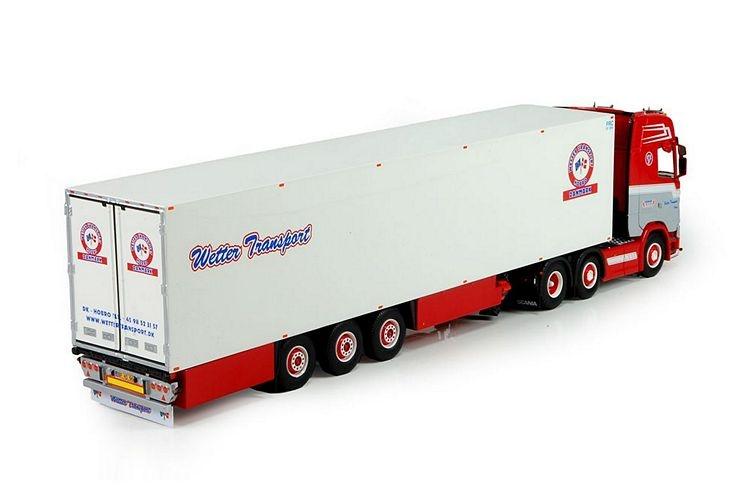 Scania S serie Highline  Kofferauflieger Wetter Transport