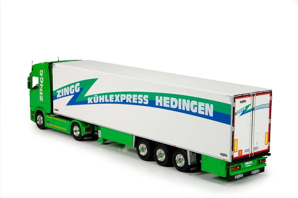 Scania S serie Highline kofferauflieger Zingg