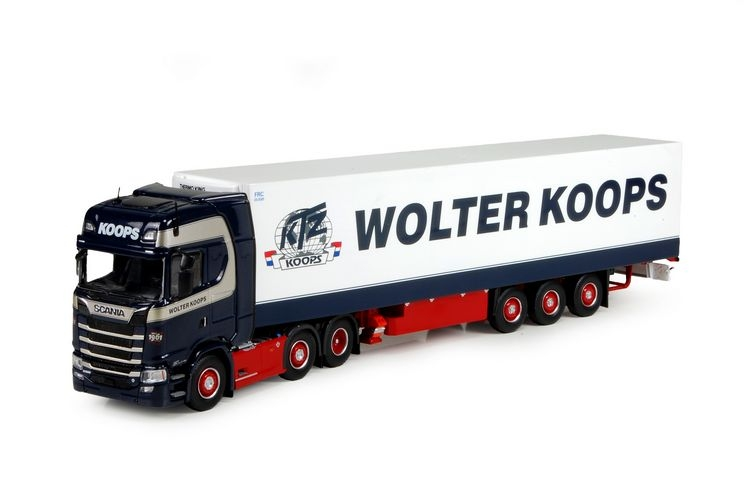 Scania S-Serie Highline  Kuehlauflieger Koops Wolter