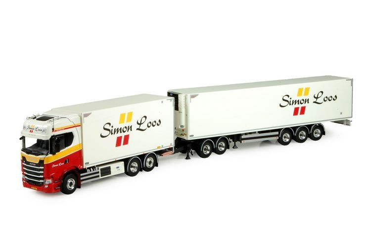 Scania S serie Highline  kuehlauflieger Loos Simon
