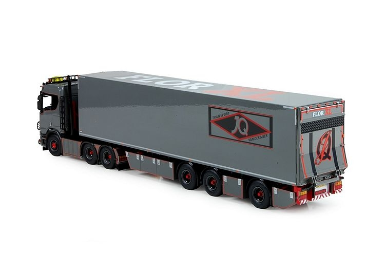 Scania S Serie Highline kuehlauflieger Meer JQ van der