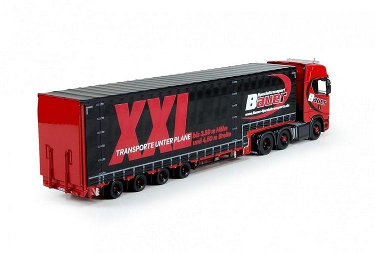 Scania S Serie Highline Meusburger  Bauer Spezialtransporte