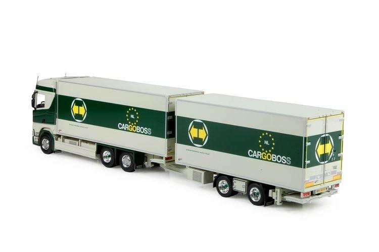Scania S-serie Highline motorwagen anhanger Cargoboss