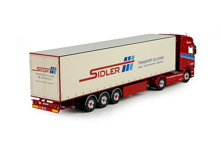 Scania S serie Highline Next generation  Sidler