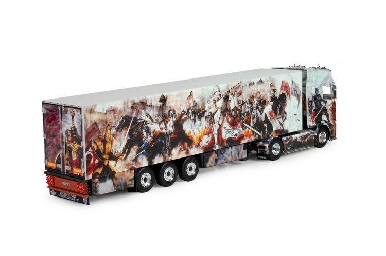 Scania S-serie Highline reefer  Heide Logistik