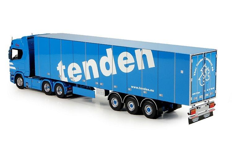 Scania S serie Highline  reefer semitrailer Tenden