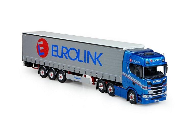 Scania S serie Highline Schiebeplanen  Eurolink