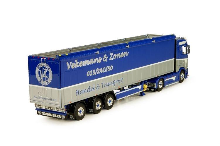 Scania S-Serie Highline schubboden Auflieger Vekemans