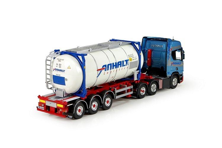 Scania S serie Highline Swap tankcontainer Anhalt