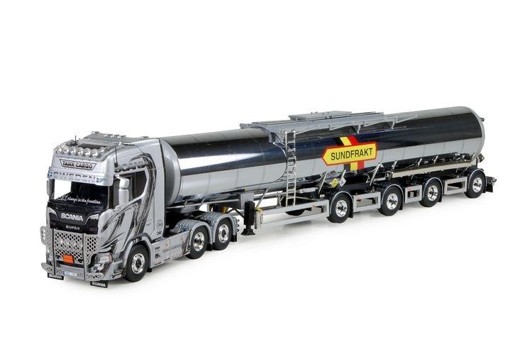 Scania S serie Highline Swedish tanktrailer Tankcargo