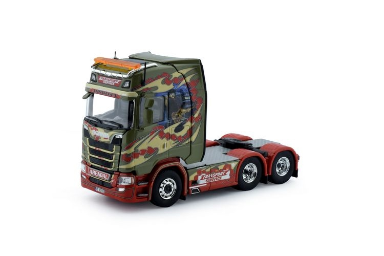 Scania S Serie Highline  Transport Service