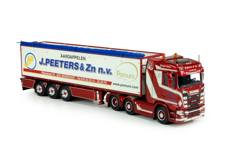 Scania S-Serie  Kartoffel auflieger Peeters J&Zn