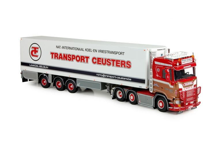 Scania S serie Lowline  kuehlauflieger Ceusters Ronny