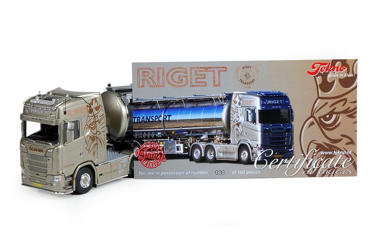 Scania S serie tankauflieger Riget