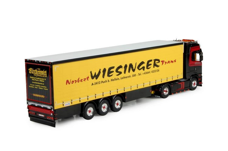 Scania S580 curtainside Wiesinger