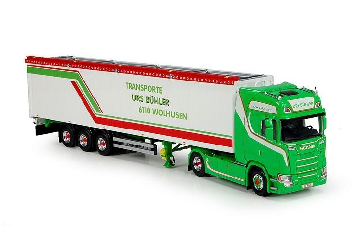 Scania S730 Cargo floor trailer Buehler Urs