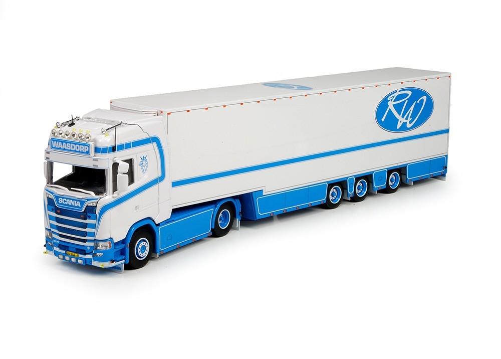 Scania S730  Gans Hals Kuehlauflieger Waasdorp