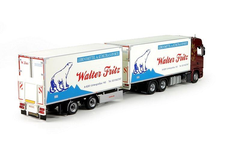Scania S730 Rigid truck trailer Fritz Walter