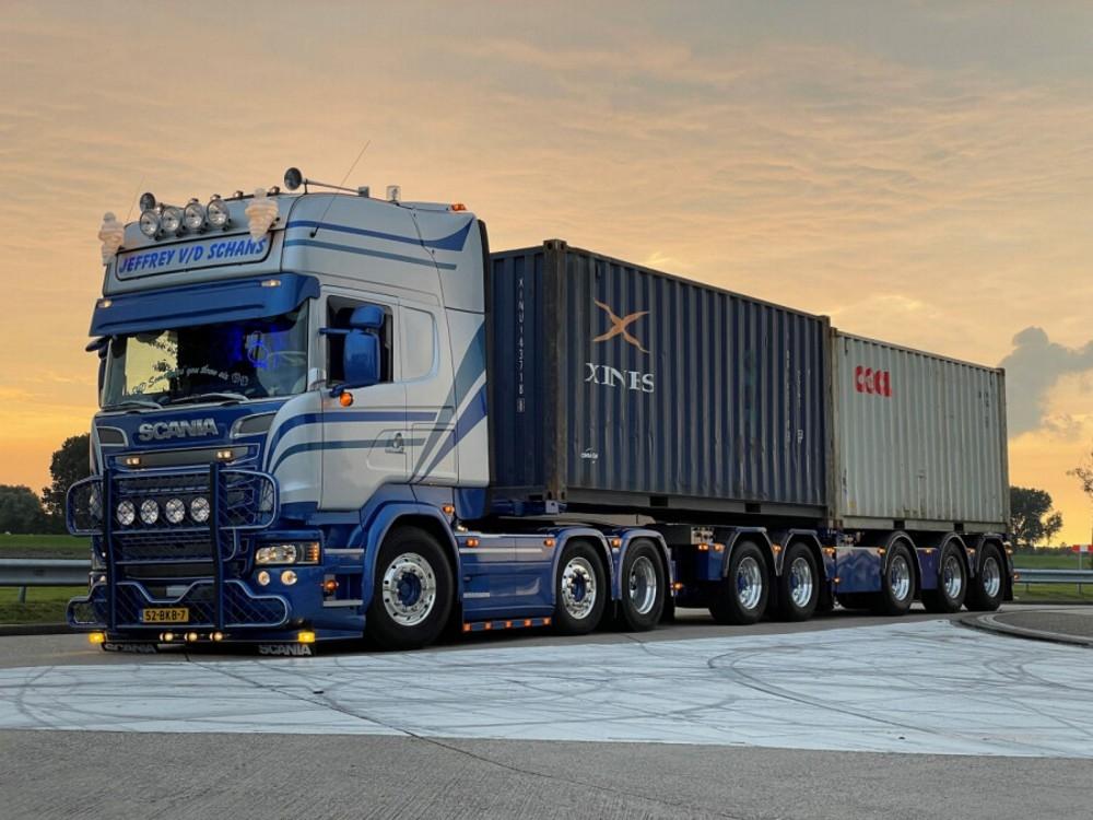 Scania Streamline  2 Connect Combi  Container  Jeffrey v/d Schan