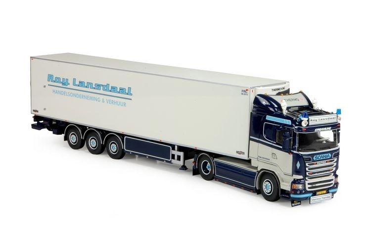 Scania Streamline 3 Achs Zamac Kuehlauflieger Lansdaal Roy