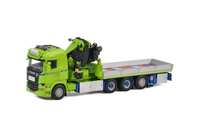Scania Streamline Fassi 1300 Nordic Crane Kynningsrud