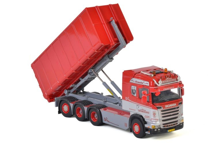 Scania Streamline Highline Hooklift  Kims Containerservice