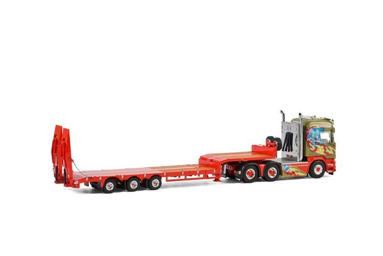 Scania Streamline Highline Semi Lowloader Midtstol