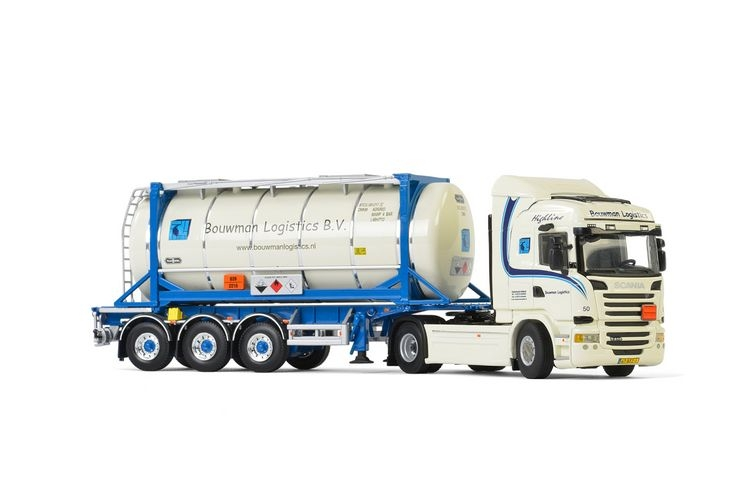 Scania Streamline Highline  Tank Container Bouwman